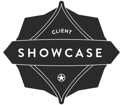 Badge 'Client Showcase'
