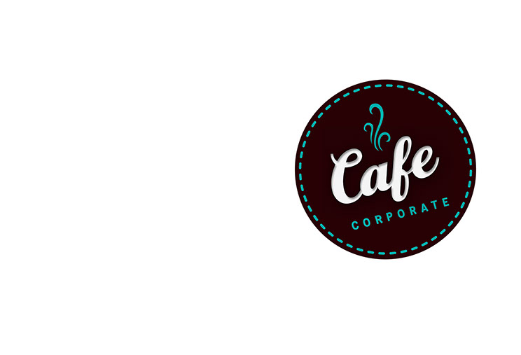 logo design for Cafe Corporate by Dessein, Australia.