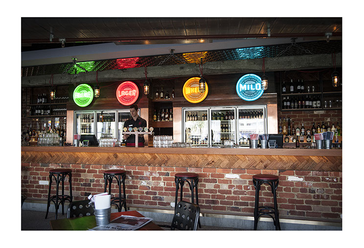 Northbridge Brewing Co. Indoor neon signage designs for different beer brands, designed by Dessein, Australia.